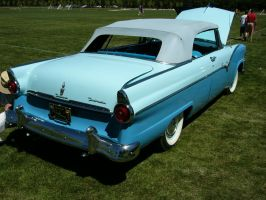 Cute Little 1955 Ford Fairlane Sunliner Butt by RoadTripDog