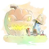 Vivi's Bomb Pumpkin by lonerurouni187