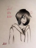 Jeff the killer(traditional art) by Insanechan