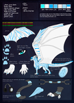 Ice Hasia Ref Sheet (UPDATED) by Bluehasia