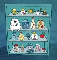 Pantry By Lettipaa by childrensillustrator
