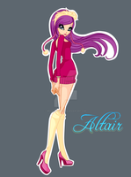 Winx: Altair Queen of Winter by DragonShinyFlame