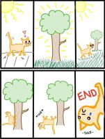 The Misadventures of Swaggg the Kat: The Tree by Maymay2146