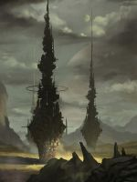 Towers by yagaminoue