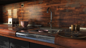 Dusty Kitchen v1.1 by Silver-Fate