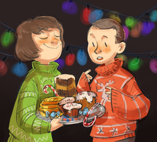 Mike and Eleven by Lis-Alis