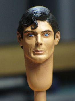 Christopher Reeve 1:6 WIP shot by scottstoybox
