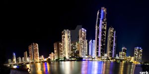 Surfers Paradise, Gold Coast Panorama by small-sk8er