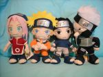 Naruto collection 3 - Team7 by rumiko18