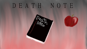 death note wallpaper by Exiled-From-Life