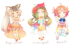 Adoptables:: Corset Collection [Open!] by Raiisu