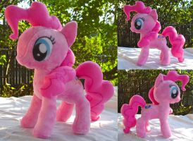 Pinkie Pie Plushie by dollphinwing