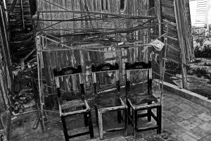Three Chairs by zeromotion28