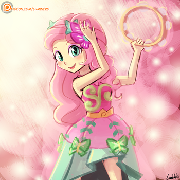 (Speed Paint) Fluttershy Rocks! by luminaura