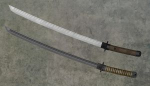 Japanese Katana by Bringess