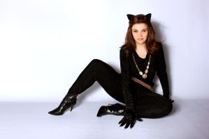 Catwoman - Smile by OddTogs