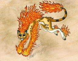 Fire Elemental by Ember-Eyes