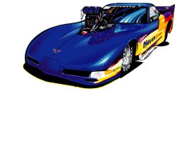 Corvette ProMod by darquem