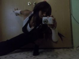 Yoruichi Cosplay Pose Tryouts! by Linked-Memories-21