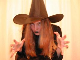 People - Woman 10 - witch by Stock-gallery