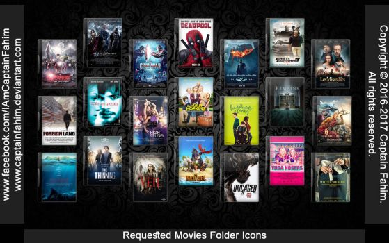 Requested Movies Folder Icons - Code #70000008 by CaptainFahim