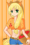 MLP:FIM Applejack by therealhanatheranger