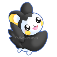 Emolga v2 by Clinkorz