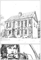 pencilled page by BrentMcKee