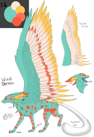Palette Adopt outcome Maonii by dragons011
