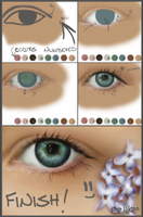 Eye Painting Tutorial by eriikaa