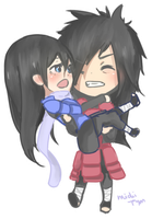 {commission} .: Madara x Chinichi :. pagedoll by pyonworks