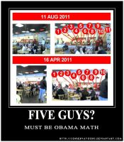 Five Guys Rant by Conservatoons