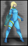 Zero Suit Samus by Obscurity-X
