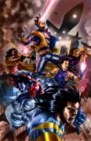 X_men__Rampage_ by aerlixir