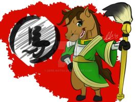 Year Of The Horse by Dere-kotsu
