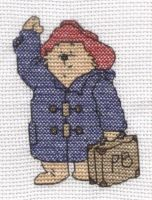 Paddington Bear cross stitch by Lil-Samuu