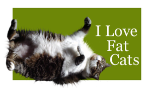 I Love Fat Cats by Loulou13