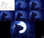 Luna Process (Old) by ChellytheBean