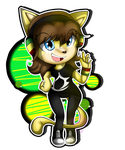 ::Commission:: Nicole Page Chibi by Jewel-Shapeshifter