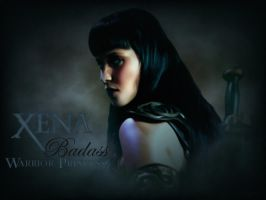 Xena Badass Warrior Princess by ARTbyKLIPP