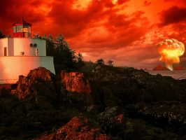 Red Sky by Henrikossauros