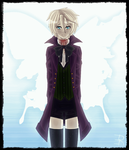 (Alois Trancy) Butterfly's tears (Gif) by xXElectric-RibelXx