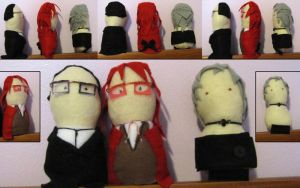 Will Grell Pluto Dolls by rawien