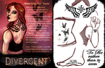 Divergent AU: Lucy by Sockless-Sheep
