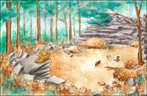 Thunderclan Camp by ashkey
