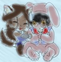 LIL BUNNY ZUKO IS NOT AMUSED by Royal-Maiden