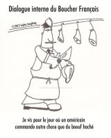 French Butcher by SophlyLaughing