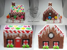 Gingerbread House 1 by Kame-ami