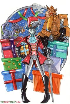 Dandy Robot's Winter Solstice by neoyi