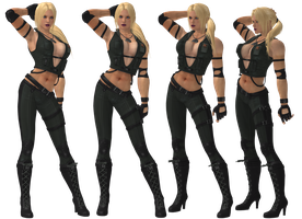 Nina Williams Tekken Revolution 6 by SpyrousSeraphim